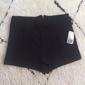 NWT Forever 21 high waisted dress shorts